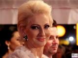 Desiree Nick Gesicht Promi face Kopf SemperOper Ball Theaterplatz Dresden Berichterstatter