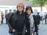 Dieter Birr, Puhdys, Sylvia Birr Gesicht Buergerfest Amtssitz Schloss Bellevue Berlin Berichterstattung TrendJam