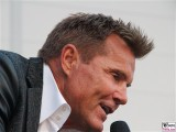 Dieter Bohlen Gesicht Promi face Gesang Eroeffnung CLINTON Großhandels GmbH Dahlewitz Hoppegarten Berlin