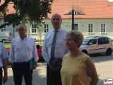 Dietmar Woidke, Dietlind Tiemann BUGA Stadt Brandenburg an der Havel Domplatz Stadtrundgang
