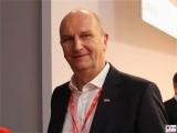 Dietmar Woidke Gesicht Promi SPD Ministerpraesident Brandenburg Bundesratspraesident Bundesparteitag Berlin CityCube Messe Berlin Berichterstattung TrendJam