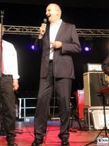 Dietmar Woidke singt Sugar Beats Ministerpraesident SPD Sommer Jubilaeum Volkspark Buga Potsdam Fest Feier Partei