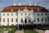 Diplomatisches Corps, Angela Merkel, Rede Empfang Schloss Meseberg BarockGarten Berichterstatter