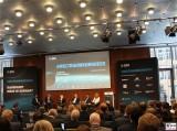 Diskussion Buehne Promi 1.Weltraumkongress BDI Berlin 2019 Hauptstadt Berichterstattung TrendJam