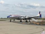 Douglas DC-6B Red Bull ILA Luft und Raumfahrt Ausstellung Berlin Schoenefeld airport Berichterstattung