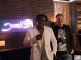 Dr. Alban, Peter Illmann Gesicht face Promi Musik PAN AM Lounge Formel Eins Set Drehort RTL Nitro Berlin Budapester Strasse
