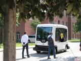 EASYMILE BVG autonomes Fahren Charite Campus Projekt Test Kleinbus Mitte Virchow Klinik Berichterstatter