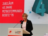 Edeltraut Glaenzer Gesicht face Kopf Promi Schlueterhof Deutsches Historisches Museum Jubilaeum Mitbestimmungsgesetz Berlin Unter den Linden Berichterstatter