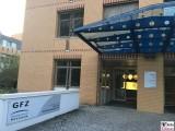 Eingang GFZ GRACE Follow-On Potsdam Deutsches GeoForschungsZentrum Telegraphenberg Berichterstatter