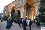 Eingang Orangerie Medienkonferenz M100 Colloquium Potsdam Sanssouci Investigativer Journalismus Berichterstatter