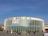 Eingang sued belektro Messe Berlin Elektrizitaet Messegelaende Funkturm Berichterstatter TrendJam