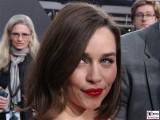 Emilia Clarke Gesicht Promi face Terminator Genisys Arnold Schwarzenegger Premiere Sony Center Berlin