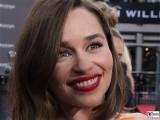 Emilia Clarke Gesicht Promi face Terminator Genisys Arnold Schwarzenegger Premiere Sony-Center Berlin