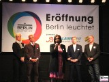 Eroeffnung Berlin leuchtet Lichterfest Potsdamer Platz
