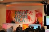 Eroeffnungspressekonferenz Fruit Logistica Messe Gelaende Berlin unter dem Funkturm Berichterstatter