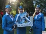 Euro Wings ready for take-off Landesvertretung Sommerfest Nordrhein-Westfalen beim Bund Berlin Hiroshimastrasse Berichterstatter