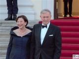 Eva Luise Köhler, Horst Köhler Gesicht Promi Queen Besuch Schloss Bellevue Staatsbankett Berlin