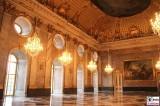 Festsaal Neues Palais Kronleuchter grosser Marmorsaal Gemaelde Schloessernacht Sanssouci Potsdam Rokoko Berichterstatter