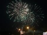 Feuerwerk Tiefer See Havel Brandenburger Sommerabend Potsdam Schiffbauergasse Berichterstattung