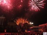 Feuerwerk Vorabend Neues Palais Communs Mopke Buehne Zuschauer Schloessernacht Beleuchtung Illumination Potsdam Schlosspark
