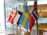 Flaggen Gemeinschaftshaus Nordische Botschaften Berlin Berichterstatter