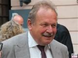 Frank Bsirske Gesicht face Kopf Promi Schlueterhof Deutsches Historisches Museum Jubilaeum Mitbestimmungsgesetz Berlin Unter den Linden Berichterstatter