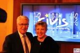 Frank Elstner, Helga Beimer CIVIS Europas Medienpreis fuer Integration 2014 Berlin Aussenministerium