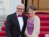 Frank-Walter Steinmeier, Elke Büdenbender Promi Queen Besuch Schloss Bellevue Staatsbankett Berlin