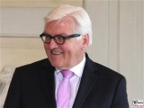 Frank-Walter Steinmeier Gesicht Kopf Aussenamt Defilee Diplomatisches Corps Schloss Meseberg Gartensaal Berichterstatter