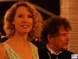 Franziska Reichenbacher, Dieter Wedel Gesicht Promi Kopf Semperopernball Dresden Theaterplatz Opernball Semperoper