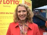 Franziska Reichenbacher Kopf Promi LOTTO ARD Buergerfest Schloss Garten Bellevue Ehrenamt Berlin Bundespraesident Tag der offenen Tuer Berichterstatter