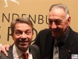 Günter Baaske, Bernd Schröder Gesicht face Kopf Sport Gala Brandenburg Potsdam Metropolishalle Berichterstatter