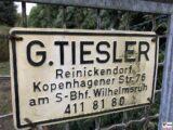 G. TIESLER Zaunschild