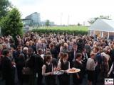 Gaeste Botschaft Schweiz Berlin Garten Eroeffnung Gotthard Basistunnel Soiree Suisse Gottardo