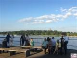 Gaeste Flatowturm Havel Tiefer See Brandenburger Sommerabend Potsdam Schiffbauergasse Berichterstattung