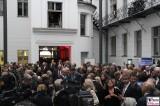 Gaeste Medien Presse Innenhof Kultursommernacht Vertretung des Landes Sachsen Anhalt beim Bund Berlin