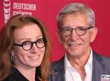 Gila Kesten, Gerd Strehle Gesicht Promi Gründer-Preis ZDF Zollernhof Berlin Unter den Linden Hauptstadt Studio MOMA-Studio