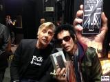Glen Matlock, Earl Slick Gesicht promi face Marshall Box Fan Autogramme IFA Messe Berlin Funkausstellung