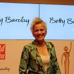 Goldene Bild der Frau Inka Bause Berlin Axel Springer Haus