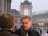 Guenther Jauch Gesicht Promi face Kopf Fortuna Portal Museum Barberini Potsdam Berichterstatter