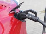 HPC Tesla Model 3 Dual Motor Performance rot IONITY Ladesaeule Hohenwarsleben A2 Magdeburg PresseFoto Elektromobilitaet Berichterstattung