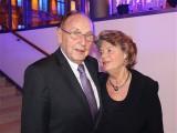 Hans Dietrich Genscher, Barbara Genscher 2013 VDZ Verband Deutscher Zeitschriftenverleger Berlin Publishers Night