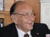 Hans-Dietrich Genscher Gesicht Promi Kissinger Preise American Academy Hans Arnold Center Berlin Wannsee