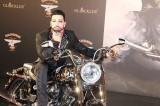 Harald Gloeoeckler Harley Davidson Softail Deluxe H-D Dyna Switchback Berlin Hotel de Rome Praesentation