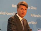 Harald Krueger Gesicht Portrait Kopf Diesel Gipfel BMW AG, BMVI Berlin Invalidenstrasse Berichterstatter