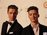 Heiko Lochmann, Roman Lochmann Lochis Gesicht face Kopf Promi Jose Carreras Gala Hotel Estrell Berlin SAT.1GOLD Berichterstatter