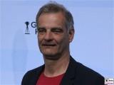 Heinrich Schafmeister Gesicht face Kopf Produzentenfest Produzentenallianz Regen Kongresshalle Hutschachtel WestBerlin Berichterstatter