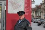 Horst Krause als Polizeihauptmeister Horst Krause Brandenburg Berliner Strasse Beelitz, rbb Polizeiruf 110