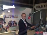 Jan Hofer Promi Chefsprecher Tagesschau Glaesernes Studio Radio 88,8 IFA Internationale Funkausstellung Berlin Messe unter dem Funkturm Berichterstatter