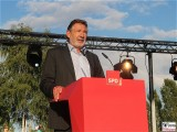 Jann Jakobs Promi Oberbuergermeister Potsdam SPD Sommer Jubilaeum Volkspark Buga Potsdam Fest Feier Partei 25 Jahre
